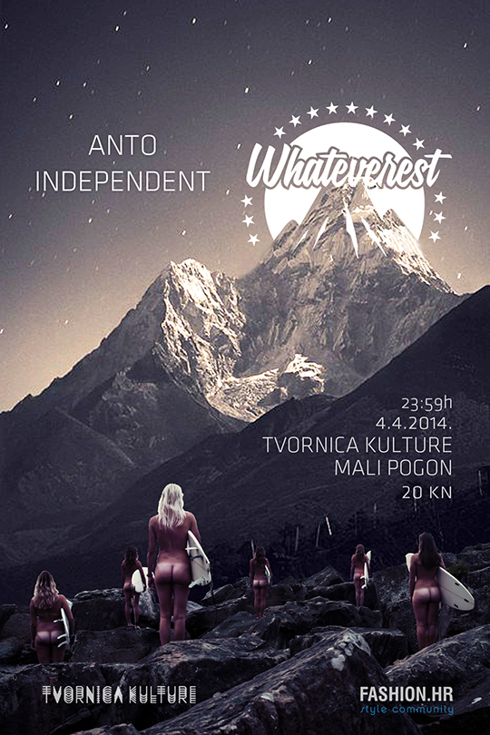 FLYER 4.4 PIC Whateverest The Journey Continues večeras u Tvornici!
