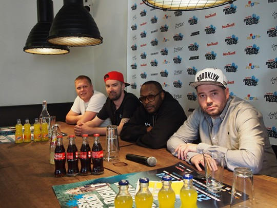 P4242023 540x405 Photo Gallery: DJ Jazzy Jeff @ New Yorker Fresh Island press conference (Munich)