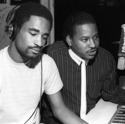 Mr Magic & Marley Marl - 107.5 WBLS Doug E Fresh & Slick Rick - (Live)