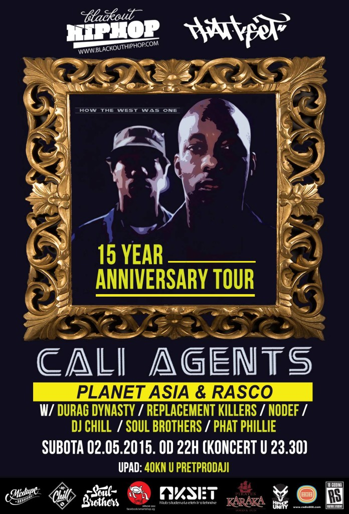 Cali Agents w/ Durag Dynasty & Replacement Killers LIVE @ KSET ...